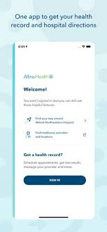 Allina My Chart Org Allina Health Account On The App Store