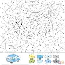 Small Picture Motorcycle Color by Number Free Printable Coloring Pages