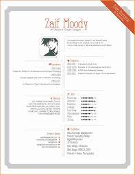 Cool Resume Formats 24 Graphic Designer Resume Format Invoice Template Download Unique 4