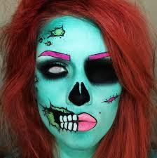 pop art zombie makeup tutorial thanks to u sssamantha on reddit s r
