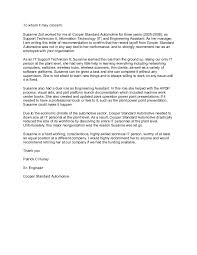 Letter Of Recommendation Mechanic Mechanic Letter Of Recommendation Magdalene Project Org