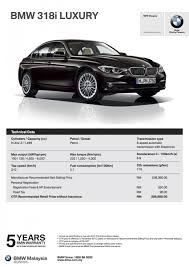 Sport Series bmw 320i price : F30 BMW 3 Series LCI launched in Malaysia – 3-cyl 318i, 320i, 320d ...