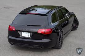 matte black audi a6. paint correction connoisseur exterior detail black murdered out audi a6 avant matte