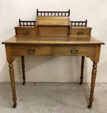antique victorian walnut writing desk