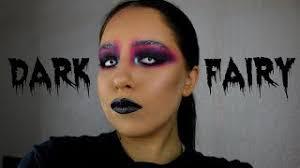 dark fairy makeup tutorial sarah fritz