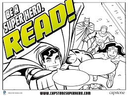 Be a Super Hero. Read!