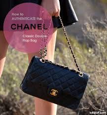 Authentication Guide Chanel 2 55 Bag Classic Double Flap Lollipuff