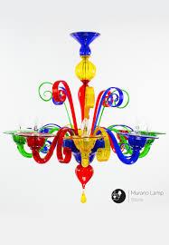 Kronleuchter Aus Murano Glas Arcobaleno