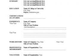 Free Simple Resume Template Or Resume Resume Template Indesign Free ...
