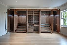 bedroom ideas stylish walk in closet decor using built in wardrobe with open racks
