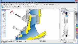 Coreldraw Designers Projected Shape Tools In Corel Designer X6