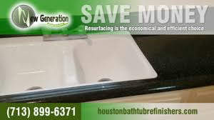 countertops and bathtub refinishing in houston texas