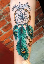 Dream Catcher Feather Meanings Dreamcatcher Tattoo Meanings Ink Vivo 48