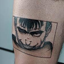 Fanart Tattoo Of Guts From Berserk Anime Tattoos We Love