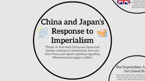 Imperialists Vs Anti Imperialists Venn Diagram China And Japans Response To Imperialism By Carrie He On Prezi