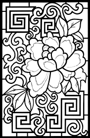 Small Picture Design coloring pages geometric ColoringStar