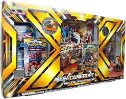 Amazon.com: Pokemon TCG: Mega Camerupt EX Premium Collection Box: Toys &  Games