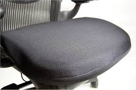 Aeron Office Chair Size Chart The Stratta Mesh Chair Seat Cushion By Bodybilt Standard Size