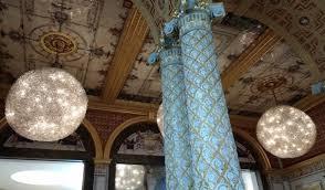 details of the v a cafe ceiling decoration