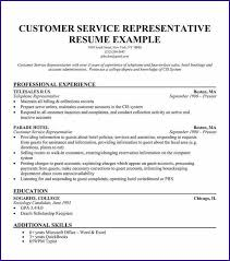 skills of customer service representative customer service resume sample letterproposaltemplate com