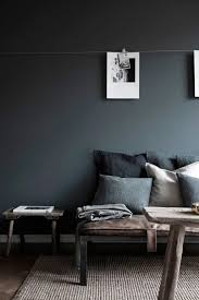 home office repin image sofa wall. gray sofa with pillows against charcoal wall home office repin image i
