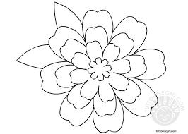 Fiori Facili Da Disegnare Migliori Pagine Da Colorare
