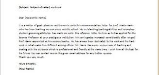Recommendation Letter For Teacher From Parent Writeletter2 Com
