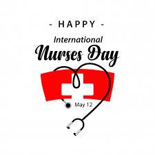 Happy International Nurses Day Vector Template Design Vector