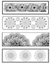 Just print the pdf and cut out the bookmarks. 25 Free Printable Adult Coloring Bookmarks