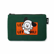 BT21 Character CHIMMY <b>Bite Slim</b> Pouch by BTS x LINE FRIENDS ...