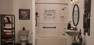 bath and shower combo installation