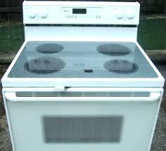 flat top stove for home whirlpool stove top whirlpool flat top stove used whirlpool glass top