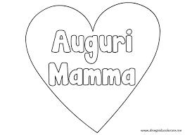 Disegni Cuori Festa Della Mamma Da Colorare Migliori Pagine Da