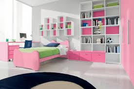 Pink And White Girls Bedroom Bedroom Small Modern Teenage Girls Design In Pink Color For With