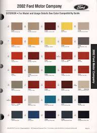 2001 Ford F250 Paint Colors