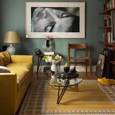 view in gallery mustard rug and sofa for a warm theme