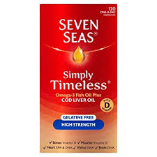 seven seas cod liver oil high strength with omega 3 plus vitamins d e 120
