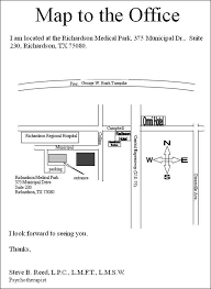 Office Map Map To Office Dallas Counseling Psychotherapy