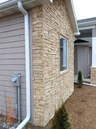 T Faux Stone Panels Exterior Home Depot
