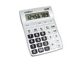 Reizen 8 Digit Talking Calculator With Alarm