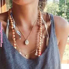 cowrie shell dainty necklace