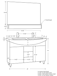 wonderful bathroom vanity sink drain height in standard on with 23