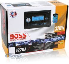 boss 822ua wiring diagram for boss diy wiring diagrams boss 822ua double din cd mp3 am fm car stereo front panel aux