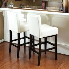 brown leather bar stools with back white leather counter stools with wood exposed wooden legs brown