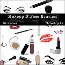makeup face sketches photo brushes obsidian dawn photo brushes pilation cd