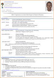 7 Cv Informatique Modele De Facture