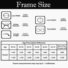 Reading Glasses Strength Chart Lovely Contact Lens Strength