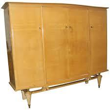 french art deco grand sycamore armoire circa 1940s antique english country armoire circa 1830s