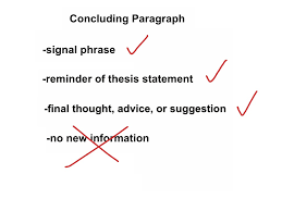 five paragraph essay conclusion writing a conclusion