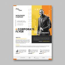 Corporate Flyer Template Free Psd Free Download Vector